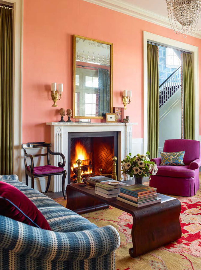 katie ridder colorful living space